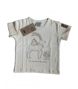 T-shirt enfant du Parc national du Mercantour